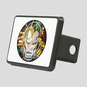 Iron Man Icon Rectangular Hitch Cover