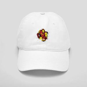Iron Man Paint Splatter Cap