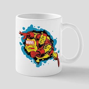 Iron Man Splatter Mug