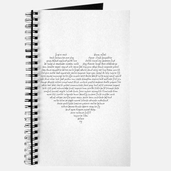 Verb Heart Journal