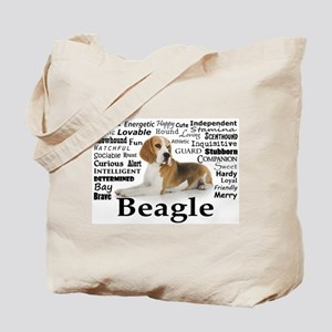 Beagle Traits Tote Bag