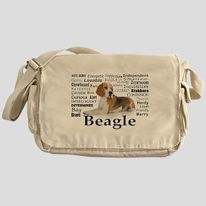 Beagle Traits Messenger Bag