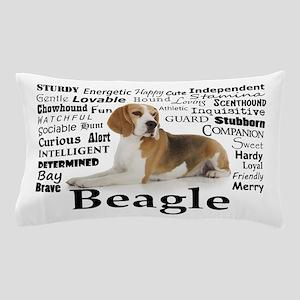 Beagle Traits Pillow Case