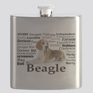 Beagle Traits Flask