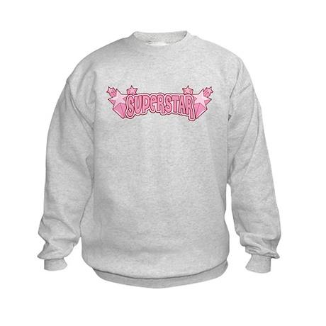 SuperStar [pink] Kids Sweatshirt
