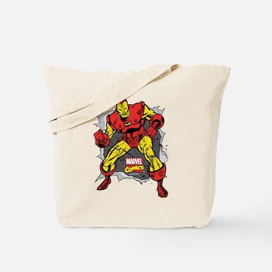 Iron Man Ripped Tote Bag