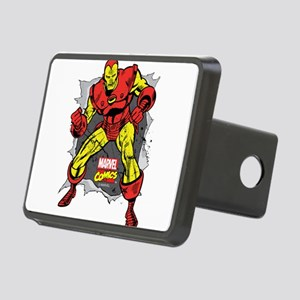 Iron Man Ripped Rectangular Hitch Cover