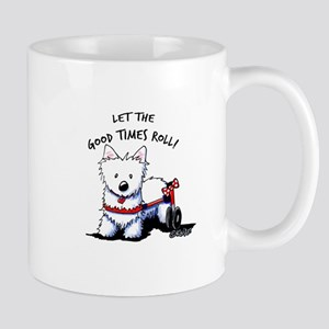 Good Times Westie Mug