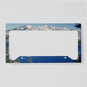 Crater Lake June 1967  License Plate Holder