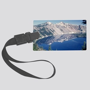Crater Lake June 1967  Large Luggage Tag