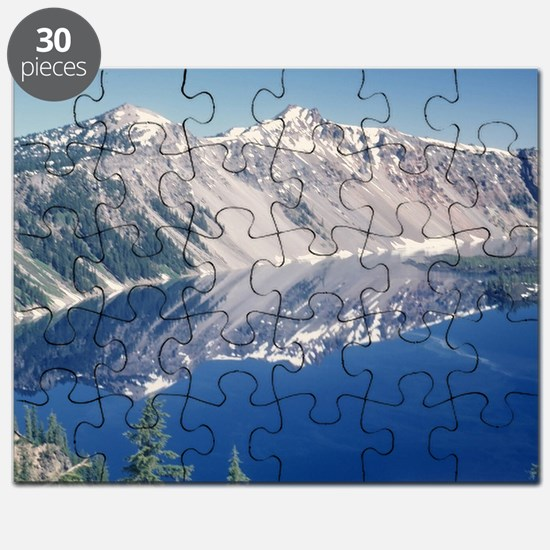 Crater Lake June 1967  Puzzle