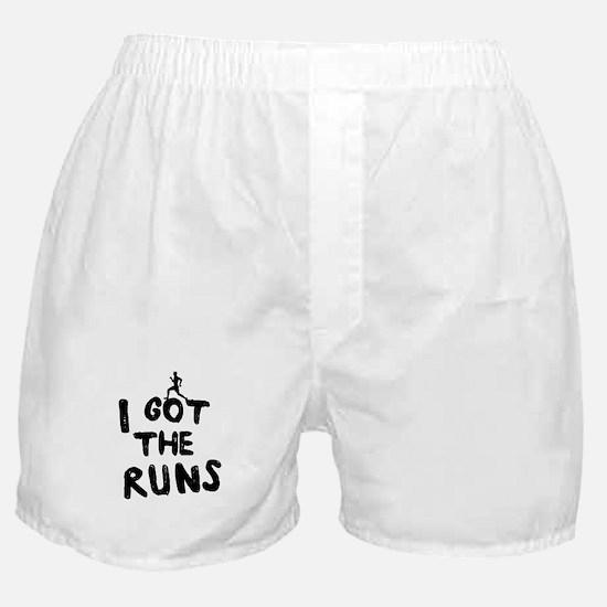 I got the runs Boxer Shorts