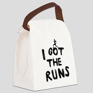 I got the runs Canvas Lunch Bag