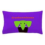 Franken dog Pillow Case
