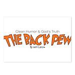 Back Pew Logo 1 Postcards (Package of 8)