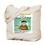 Womans Purse Back Pew 1 Tote Bag