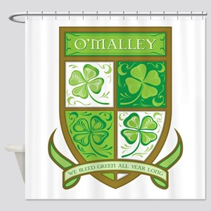O'MALLEY Shower Curtain