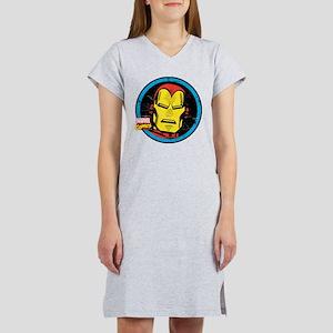 Iron Man Face Women's Nightshirt