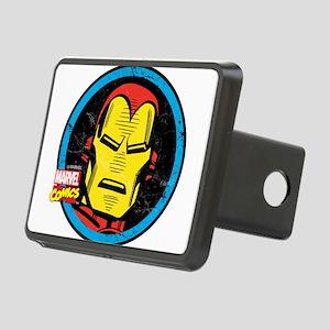 Iron Man Face Rectangular Hitch Cover