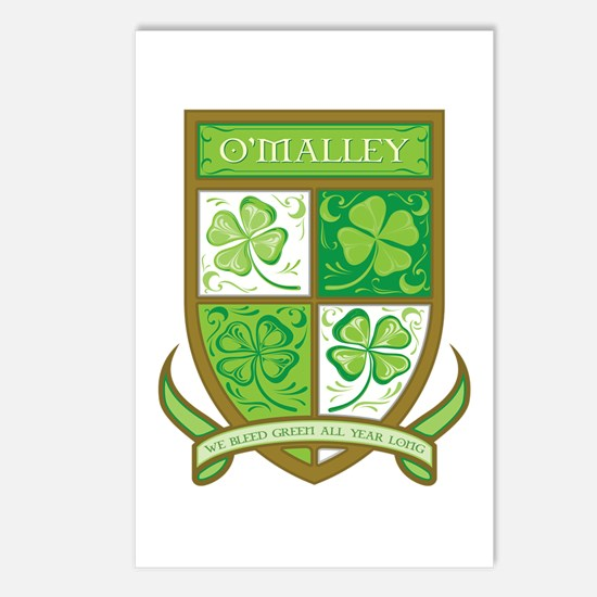 O'MALLEY Postcards (Package of 8)