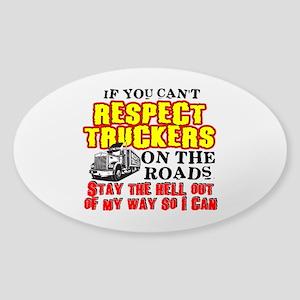 Respect Truckers Sticker