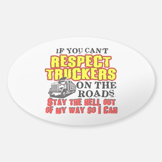Respect Truckers Decal