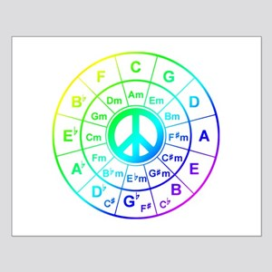 Peace Circle of 5ths Posters
