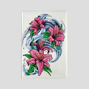 flowermark Rectangle Magnet