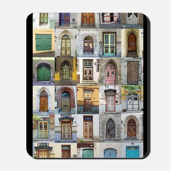 Doors of Tallinn Mousepad