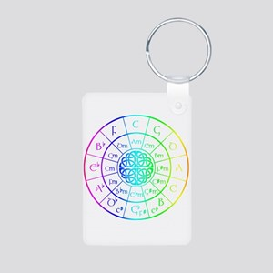 Celtic Circle of 5ths Keychains
