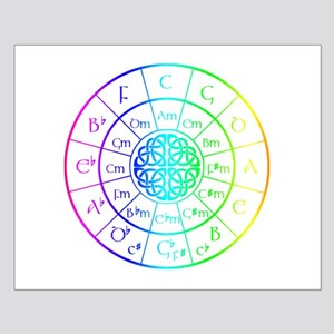 Celtic Circle of 5ths Posters