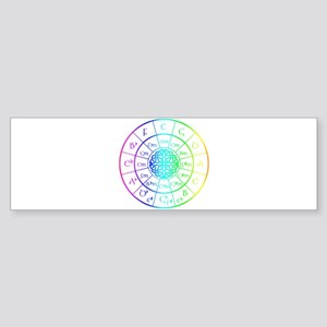Celtic Circle of 5ths Bumper Sticker