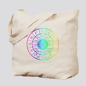 Celtic Circle of 5ths Tote Bag