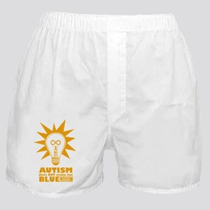 Autism Doesn't Make Me Blue Boxer Shorts