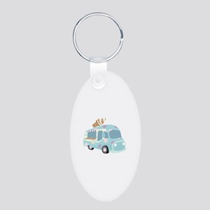 Ice Cream Truck Keychains