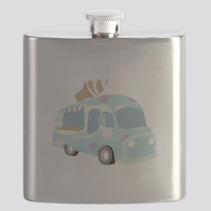 Ice Cream Truck Flask