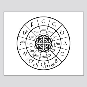Celtic-blk Circle of 5ths Posters