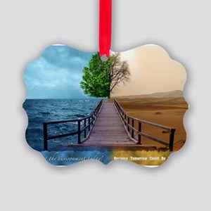 waterdesert Picture Ornament