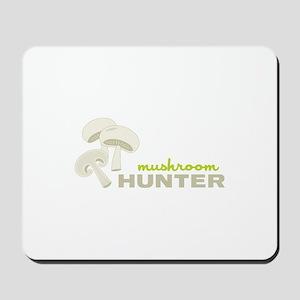 Mushroom Hunter Mousepad