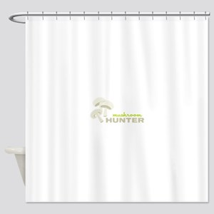 Mushroom Hunter Shower Curtain