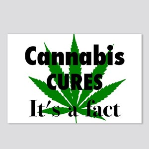 Cannabis Cures Its A Fact Postcards (Package of 8)