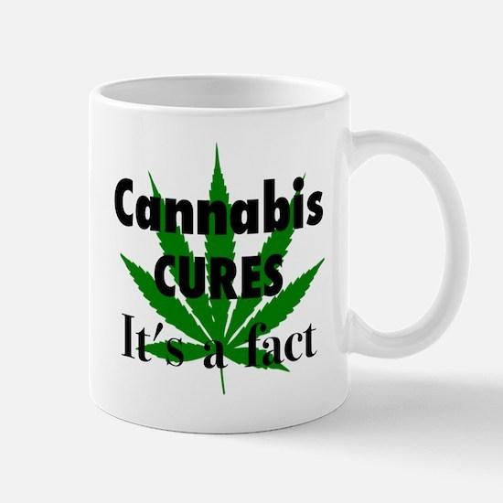 Cannabis Cures Its A Fact Mug