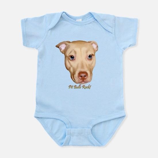 Pitbulls Rock Infant Bodysuit