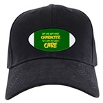 Like I Care Green-Gold Black Cap