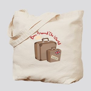 Been Around The World Tote Bag