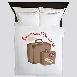 Been Around The World Queen Duvet