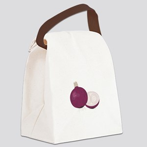 Red Onions Canvas Lunch Bag