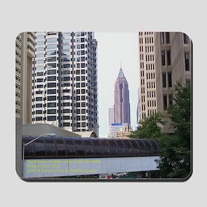 Downtown Atlanta View Mousepad