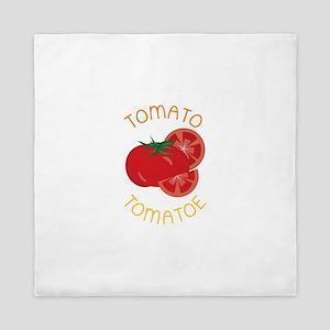 Tomato Tomatoe Queen Duvet