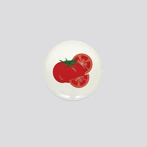 Red Tomatoes Mini Button
